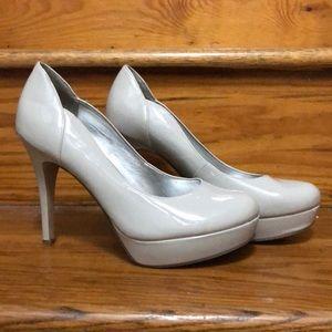 Grey/Nude Heels